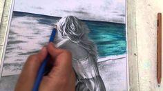 Como colorir mar com lápis de cor