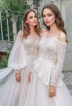 Asian Wedding Dress, Wedding Dress Trends, Princess Wedding Dresses, Bridal Dresses, Wedding Gowns, Peplum Wedding Dress, Lovely Dresses, Vintage Dresses, Long Sleeve Wedding