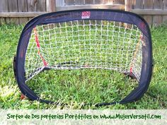 #Sorteo:  Set de Dos Porterías de Fútbol (soccer) Portátiles #Giveaway #MujerVersatil #Free #Soccer #Futbol