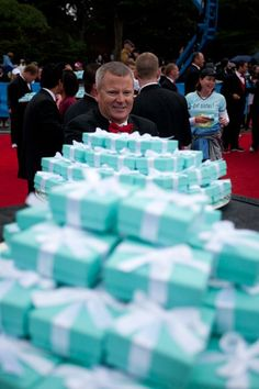 Run the Nike Women's Marathon.  When you finish, a firefighter in a tux gives  you a Tiffany Co. necklace! Ok, this is officially on my bucket list.