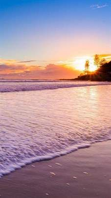 Sunset Beach iPhone 5s Wallpaper Download iPhone