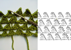 For this project you will need yarn ply, DK) and crochet hook Important note: familiarise yourself with the chart symbols and abbreviations as the ones used here are continental. Begin by crocheting the first … Diy Crochet And Knitting, Crochet Scarves, Irish Crochet, Crochet Hooks, Free Crochet, Crocheted Scarf, Crochet Stitches Chart, Crochet Motifs, Crochet Diagram