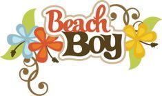 Beach Boy SVG scrapbook title beach svg files beach svg cuts beach boy cut files…