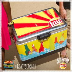 Planning a trip? Don't worry, you've got another chance to win an awesome Lay's cooler, perfect for a summer's day. Check back tomorrow at 2 pm ET at www.twitter.com/LAYS. Summer Swag, Potato Chips, Don't Worry, No Worries, Chill, How To Plan, Twitter, Awesome, Potato Chip