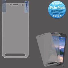 MYBAT Screen Protector for Galaxy S7 Active Case - Clear (Twin Pack)