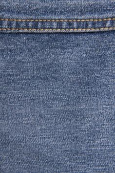 Vintage Blue Jeans Texture With Stitch High Resolution 2592 × 3888
