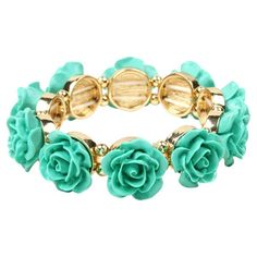 Rose Bracelet in Turquoise at Joss & Main