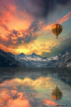 Nice Picture Of Hot Air Balloon