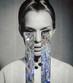 Juxtapoz Magazine - Sara Shakeel's Crystalline Collage-work