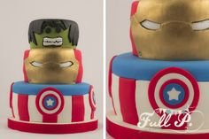 Avangers Cake by Full P - sweets & parties