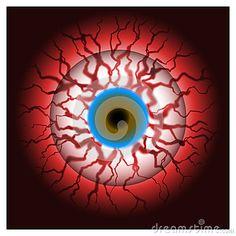 Bloodshot Eye Bloody Eyeball Stock Illustration - Illustration of idea, background: 45948734 Scary, Creepy, Bloodshot Eyes, Halloween Eyeballs, A Perfect Circle, Halloween Backgrounds, Beautiful Eyes, Backdrops