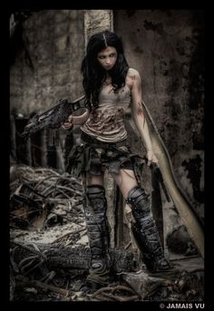 apocalyptic costuming... 2 by *Meaghan-Monster