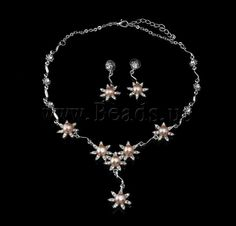 Natural Freshwater Pearl Jewelry Sets,