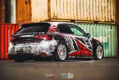💥 Audi S3 livery #3 💥 Owner: @niggoh_s3 Wrapped: @folienfx 👌 Photos: @photobymelzi 📷 Design by ttstudio.ru ✍️ #ttstudioru #folienfx #audi #audis3 #rs3 #low #deep #racing #livery #racecar #wrapped #customwraps #customgraphics #carwrap #wrapping #wrap #carwraps #carwrapping #folie #foliedesign #foliecardesign #carfolie #vehiclewraps #photobymelzi #sourkrauts #rotiform Car Folie, Custom Wraps, Car Wrap, Race Cars, Audi, Branding, Design, Drag Race Cars, Brand Management