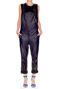 Maverick Leather Overalls - USD$458.85 from Friend of Mine www.madebyafriendofmine.com.au/shop/store/clothing/leather/Maverick-Leather-Overalls/