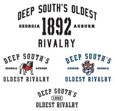 The Deep South's Oldest Rivalry is tomorrow: Georgia Bulldogs vs. Auburn Tigers.  Who wins?