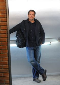 Michael Weatherly in NCIS.  ♥