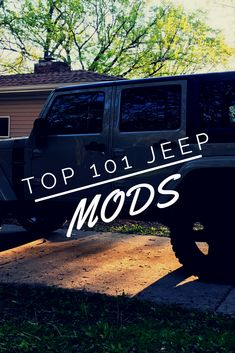 What are the best Jeep Wrangler parts and accessories ideas? Some are cool, some are funny, some are for offroad, and some are for street. From the popular to the unique all the Jeep mods you could ever want in one complete list!