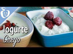 Como fazer o Iogurte Grego - YouTube