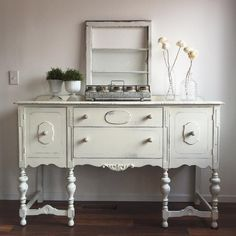 Rustic media console spaces rustic with buffet distressed Country Furniture, Shabby Chic Furniture, Vintage Furniture, Cool Furniture, Painted Furniture, Refurbished Furniture, Chalk Paint Chairs, Painted Chairs, Painted Buffet