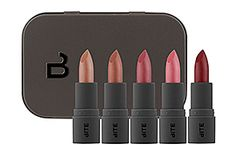 This tiny tin includes five bite-sized creme lipsticks from nude to deep cranberry. They make a perfect stocking stuffer or hostess gift. $25.00.  http://www.sephora.com/bite-size-discovery-set-P376639?skuId=1442045