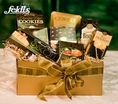 The Garden City Gourmet Basket  By Feldis Florist FF9G9