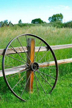 wagon wheel photo by davona douglass flickr