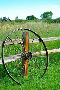 wagon wheel photo by davona douglass flickr
