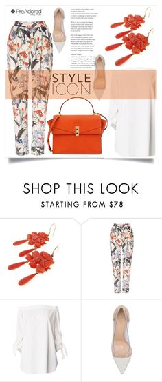 """""""Pre Adored 16/V"""" by amra-mak ❤ liked on Polyvore featuring Phase Eight, TIBI, Gianvito Rossi, Henri Bendel and PreAdored"""