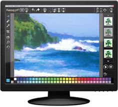 Art learning software