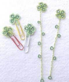 Singtatter's Corner: Paper Clip of the Month / Motif No. 21 - Lucky 4-leaf Clover, TIAS Day 2
