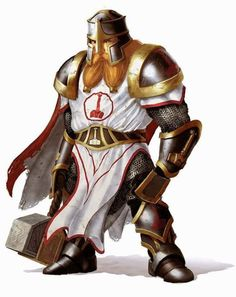 Dwarf Paladin Dark Fantasy, Fantasy Dwarf, Fantasy Rpg, Medieval Fantasy, Dungeons And Dragons Characters, Dnd Characters, Fantasy Characters, Fantasy Portraits, Character Portraits