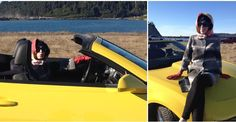 Day 25: #Yisfor the yellow Porsche. #fmsphotoaday #ayearoftwilight #OlympicCoven