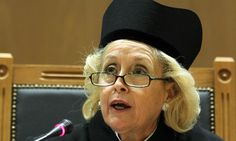 Greece's top Supreme Court judge, Vassiliki Thanou, has been appointed caretaker prime minister ahead of early elections next month.