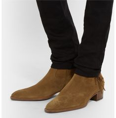 Mens Suede Boots, Leather Ankle Boots, Suede Leather, Leather Men, Men Boots, Leather Jackets, Soft Leather, High Ankle Boots, Shoe Boots
