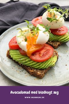 Lchf, Keto, Soul Food, Healthy Choices, Avocado Toast, Brunch, Cooking Recipes, Vegetarian, Favorite Recipes