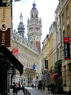 Lille - the city near France's border with Belgium in Nord-Pas de Calais region, the fourth-largest city in France after Paris, Lyon, Marseille.
