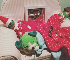 Elf on the Shelf sleepover #elfontheshelf #elfontheshelfideas
