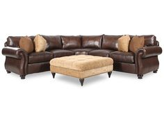 Domayne Leather Couch
