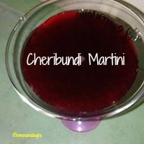 Blogger Lemons & Laughs shakes up a quick Cheribundi Martini for a healthy way to unwind. Tart Cherry Juice, Cherry Recipes, Martini, Fruit, Healthy, Food, Meal, The Fruit, Essen