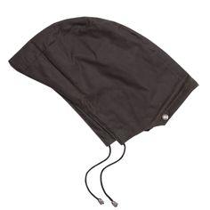 Oilskin Detachable Hood - Brown