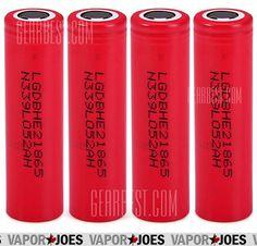 Vapor Joes - Daily Vaping Deals: EPIC: FOUR LG HE2 18650 BATTERIES - 20A - 2500MAH ...