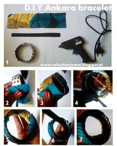 bl … Source by flosagna Diy African Jewelry, African Bracelets, African Crafts, African Accessories, African Necklace, Fabric Earrings, Fabric Beads, Fabric Jewelry, Diy Earrings