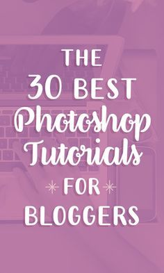 The free tutorials linked below are intended for non-experts and they provide all the tools you need to give your Photoshop blog graphics a polished, profession