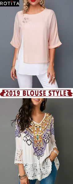This French-inspired capsule wardrobe will help you get dressed with ease and cultivate your own look.Take a basic denim piece and spin it into something that feels elevated and chic. Stylish Tops For Girls, Trendy Tops For Women, Mode Shoes, Trendy Fashion, Womens Fashion, Clothing Sites, Blouse Styles, Get Dressed, Capsule Wardrobe