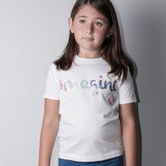 Image of Imagine graphic t-shirt (little girls, big girls)