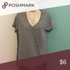 Tshirt Short sleeve t shirt . 50% polyester 38% cotton 12%rayon no stains or holes Mossimo Supply Co. Tops Tees - Short Sleeve