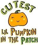 Cutest little pumpkin in the patch