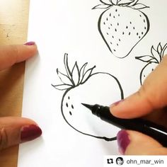 """1,823 Likes, 22 Comments - Ohn Mar Win (@ohn_mar_win) on Instagram: """"I wanted to share this time lapse again as I haven't posted too many pics of the Pentel pocket…"""""""