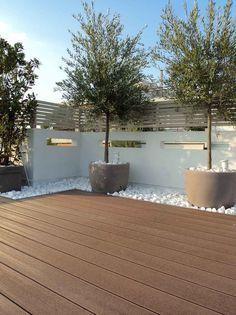 Small Backyard Gardens, Small Backyard Landscaping, Back Gardens, Outdoor Gardens, Backyard Ideas, Patio Ideas, Small Backyards, Small Front Gardens, Roof Gardens